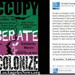 Occupy Liberate 2012 1 Year Celebrate OLA