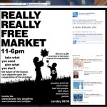 One-Year anniversary for Occupy Los Angeles - Really Really Free Market