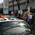 More than 2000 in Los Angeles protest the George Zimmerman not guilty verdict.