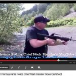 "Pennsylvania Police Chief Mark Kessler Tells Liberals ""Fuck All You Libtards."" Uses assault weapons."