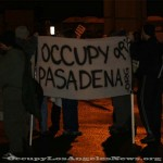 Occupy Pasadena at Port of Long Beach December 2011. Photo by Mitch for OccupyLosAngelesNews.org