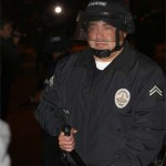 This LAPD officer stood ready to evict Occupy LA in 2011.