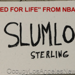"Racist Los Angeles Clippers Owner and Slumlord Donald Sterling ""Banned for Life"" from the NBA"