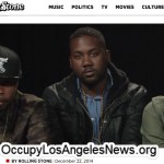 Occupy Los Angeles News' Year in Review…Ferguson Missouri activists who were interviewed by Rolling Stone Magazine in 2014 was posted to Occupy Los Angeles News.