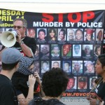 """""""Justice For Africa"""" - 200 Marched From L.A. Police Headquarters To Skid Row And Where Africa Was Killed"""