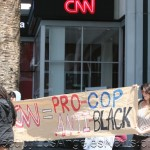 "CNN's Los Angeles Headquarters Draws Protestors Claiming ""CNN = Pro-Cop Anti-Black"""